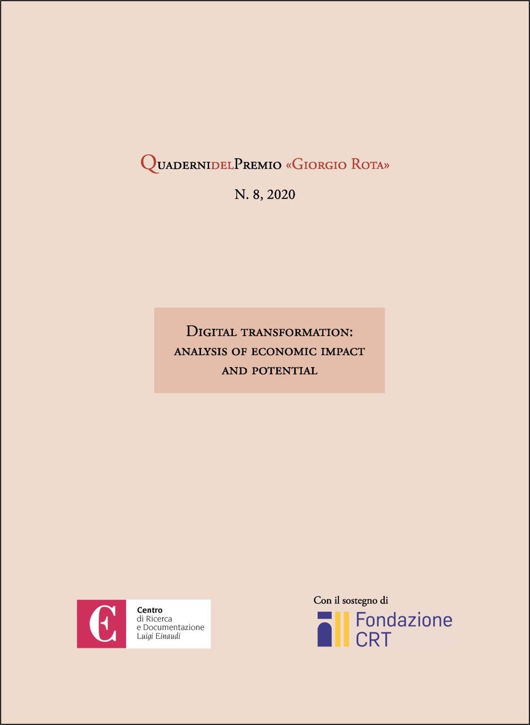 VIII Quaderno del Premio «Giorgio Rota»