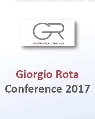 Giorgio Rota Best Paper Award